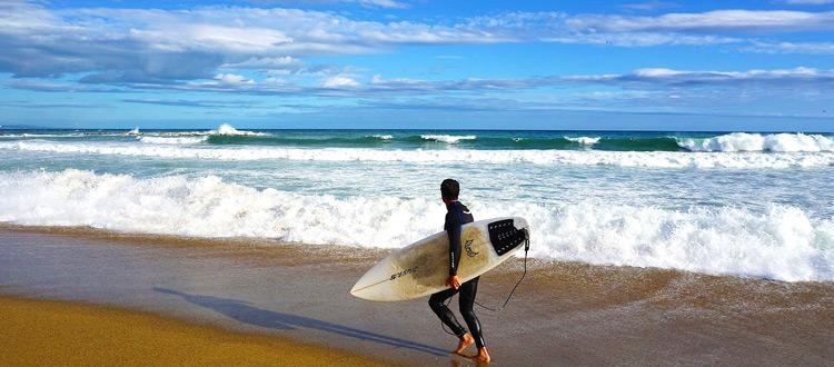 Surfurlaub in Spanien