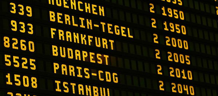 Ranking: Wie gut erreichbar sind Europas Flughäfen?