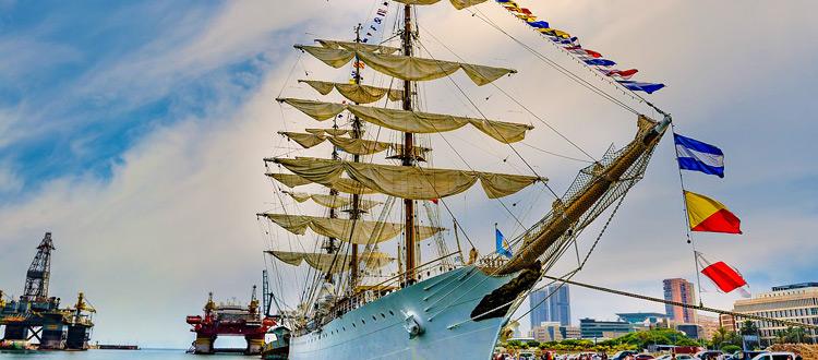 Segelkreuzfahrten: Mit Windjammern die Weltmeere erobern