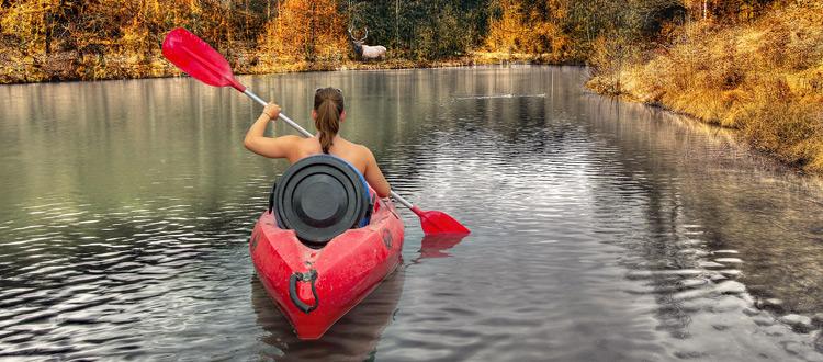 Kajak, Kanu, Paddelboot - Der ARAG Tipp zum Wochenende: Erkunden Sie doch mal die Flüsse in Ihrer Nähe