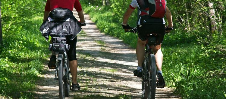 Mit dem Mountainbike die Natur entdecken - Der ARAG Tipp zum Wochenende: Radfahren mit Adrenalin-Kick